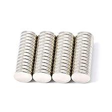 Beschreibung der Magneten:50Neodym Magnete mit hoher Haftkraft.Für Whiteboards oder Pinnwand.Eigenschaften:50Magneten pro Lieferung10mm Durchmesser, 2mm dickbis zu 1,8kg Klebkraftaxially magnetisiert durch 2mmMaterial: Nickel-BeschichtungForm: ...