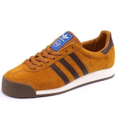 Adidas Samoa VNTG, Zapatillas de Deporte para Hombre, Beige (Talco/Cartra/Blatiz), 42 EU