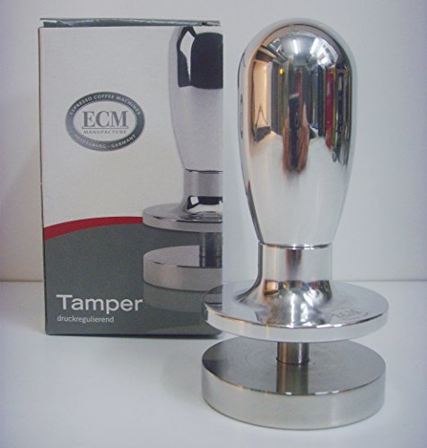ECM 89415 Tamper druckregulierend, Aluminium poliert, edelstahl thumbnail