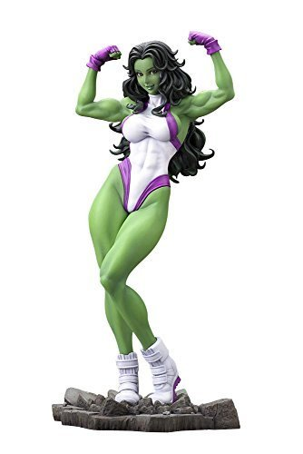 "Kotobukiya She-hulk ""marvel Comics"" - Bishoujo Statue - Kotobukiya Action Figure By Kotobukiya Picture"