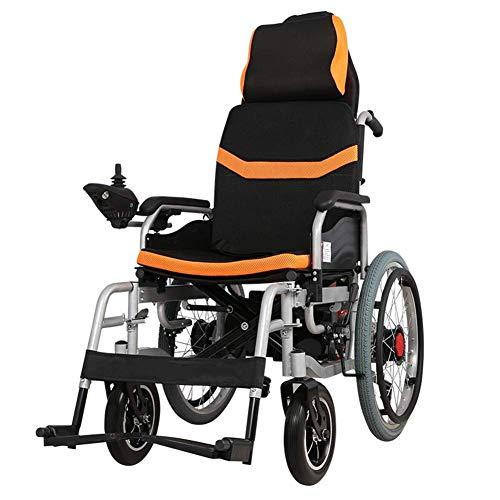 Intelligente Elektrorollstuhl Faltbar Leicht, Elektro Mobilitätshilfe Elektrischer Rollstuhl, Tragbarer Medizinischer Leichte Roller,Tragbare Ältere Behinderte Hilfe Auto