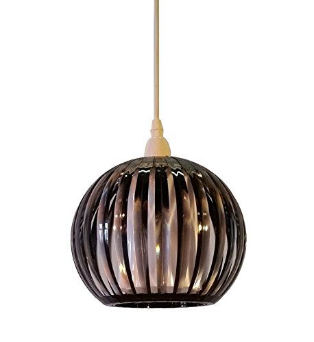 kliving-lancia-smokey-acrylic-non-electric-pendant-ceiling-light-shade