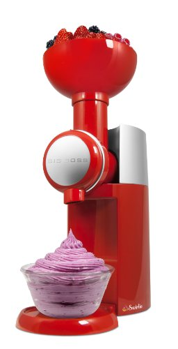 Big Boss 9249 Swirlio Frozen Fruit dessert Maker, rosso/argento
