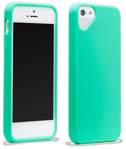 Cloud Olo-Cover per Apple iPhone 5, motivo P Cloud-Green