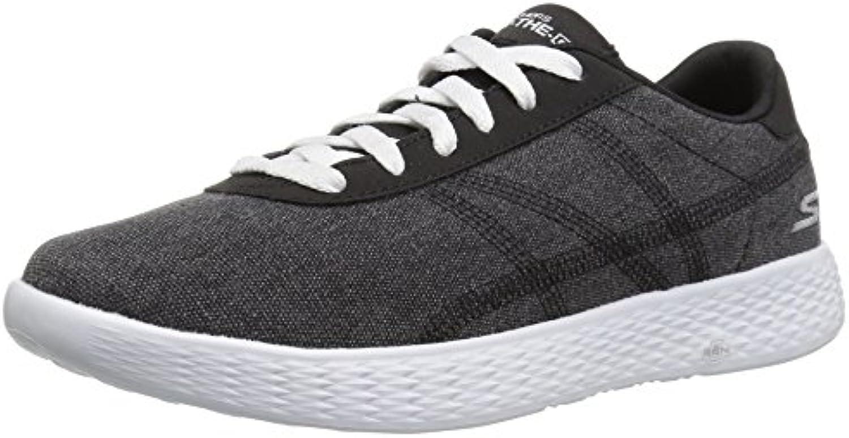 Zapatillas para caminar Sprint-Sprint de alto rendimiento para mujer, negro / blanco, 9 M US