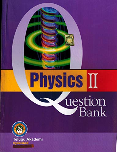 EAMCET Question Bank PHYSICS II