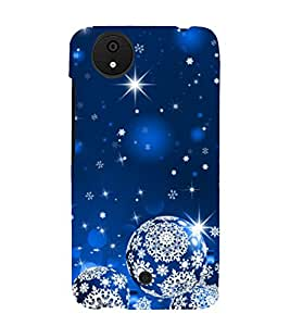 Print Masti Designer Back Case Cover for Micromax Canvas Android A1 AQ4501 :: Micromax Canvas Android A1 (Star Flower Design Circle Planet)