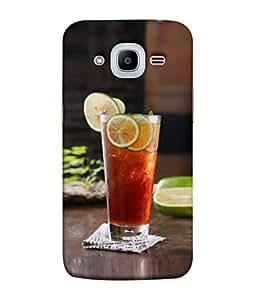 PrintVisa Designer Back Case Cover for Samsung Galaxy J2 (6) 2016 J210F :: Samsung Galaxy J2 Pro (2016) (Food Citrus Beverage Tasty Sweet Dessert Cool Liquid)