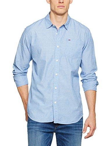 Hilfiger Denim Herren Freizeithemd Thdm Basic Solid Shirt L/S 38, Blau (True Blue 410), X- Preisvergleich