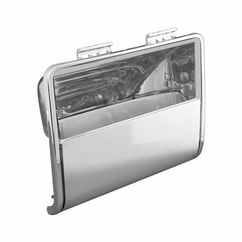 Grand General 66994 Plastic Chrome Center Instrument Bezel with Visor for Kenworth
