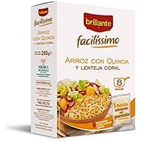 Brillante Facilissimo Arroz con Quinoa y Lentejas 5 bolsitas X 50 gr