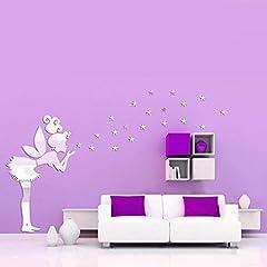 Idea Regalo - WALPLUS - Decorazione murale a Specchio, Motivo: Campanellino, Argento