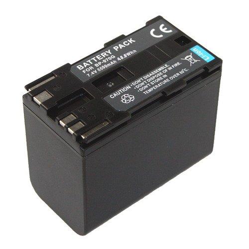 Preisvergleich Produktbild Battery Pack für BP-970G 7.4V, 6600mAh, 48,8Wh, Li-Ion ersetzt: ES75 , ES420V, ES8200V, ES8400V, ES8600, GL-1 , GL-2, C300 PL, C300, XH A1, XH G1, XH G1S, XF 100, 105, 300, 305, XL2, XL H1S, XL-1, XL-H1, XL-H1A, XL-G1, XL-A1, XL-1S, XM2, XM-1