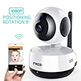 Wireless IP Camera, FREDI Wifi baby Camera 1080P Home Surveillance Security Camera, Baby Monitor with P2P, Motion Detection, Two-Way Audio & Night Vision (IP890)
