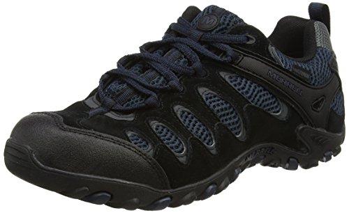 merrell-vertis-vent-waterproof-mens-lace-up-low-rise-hiking-shoes-black-black-navy-11-uk