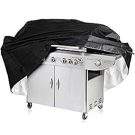 Neve Colmanda Copertura Barbecue Impermeabile Copertura Barbecue Strappi 420D Copertura Barbecue Esterno Polvere BBQ Grill Impermeabile Copertura per Anti-UV 76x66x120cm
