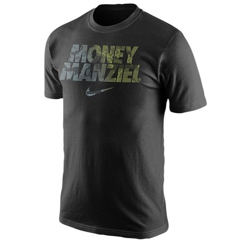 Nike M?nner Cleveland Browns NFL Geld Manziel T-Shirt XX-Large Schwarz (Schuhe Nike Nfl)