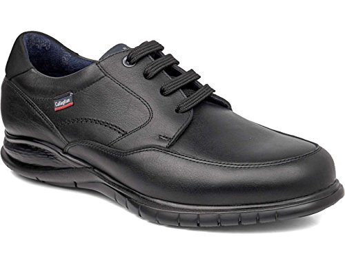 Callaghan Freemind, Derby Chaussures Pour Homme Noir