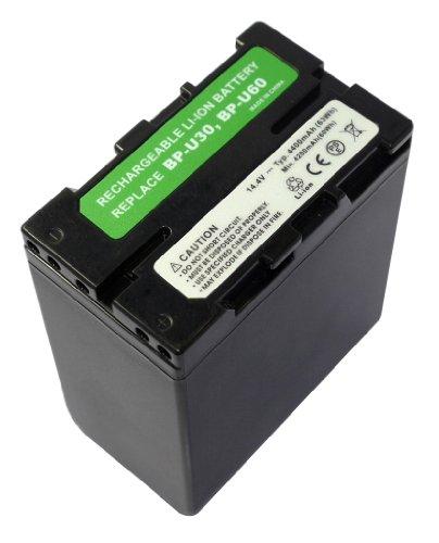 PowerSmart® 14.4V 4400mAh Li-ion Batterie pour Sony PMW-100, PMW-150, PMW-160, PMW-200,PMW-EX1, PMW-EX1R, PMW-EX3, PMW-F3, PMW-F3K, PMW-F3L