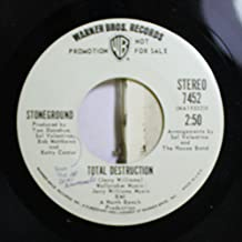 Stoneground 45 RPM Total Destruction / Queen Sweet Dreams