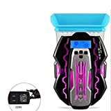 DZH*H Refroidisseur PC Portable - Refroidissement Rapide - Extracteur d'air USB pour...