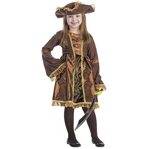 Dress Up America 797-L - Piratenmädchenkostüm, (Ideen Coolsten Halloween Kostüme)