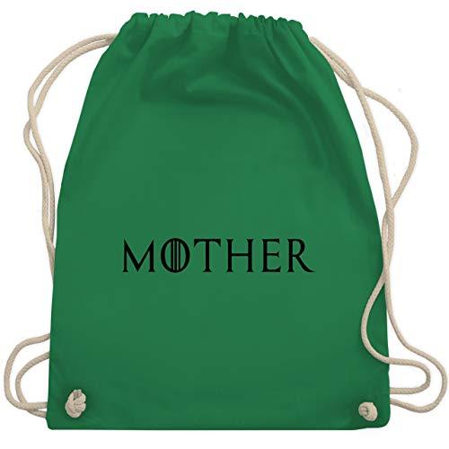 Partner-Look Familie Mama - Mother - Unisize - Grün - WM110 - Turnbeutel & Gym Bag (Film Partner Beste)