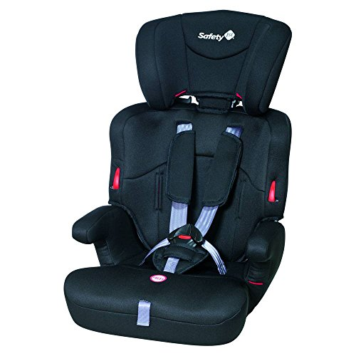 Safety 1st 85127640 - Ever Safe Kindersitz Gruppe 1/2/3, ab circa 12 Monate bis 12 Jahre, full black