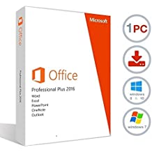 Microsoft Office 2016 Professional Plus License Key - Non MSDN [DOWNLOAD] for Windows 7 / 8 / 10 PC's