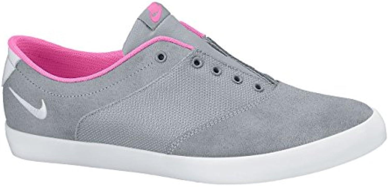 Nike, Schuhe Tennisrucksack für Damen Wolf grey/pink glow-white 38.0eu/24.0 cm