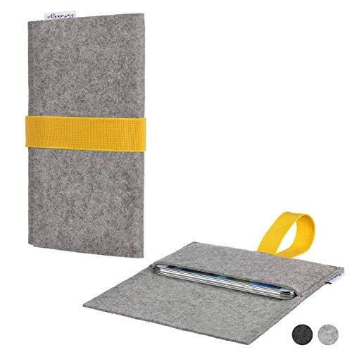 flat.design Handy Hülle Aveiro für Energizer P20 handgefertigte Filz Tasche Case Sleeve fair