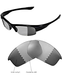 0a57138a62 Walleva Replacement Lenses for Oakley Bottlecap Sunglasses-Multiple Options  Available (Transition photochromic -