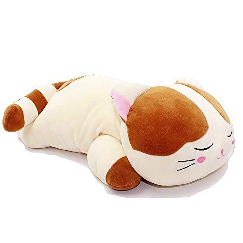 1ed66dbb2c2a FONGFONG Géant Animal Chat en Peluche PP Coton Coussin Oreiller Farcies  Peluche Soft Toy Cozy Animal Plush Jouets Oreillers pour Bébé Adultes ...