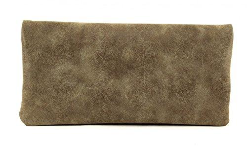 Fritzi aus Preußen Ronja Stit Vintage Pochette 29 cm Wood (Marrone)