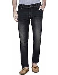 Raa Jeans Slim Fit Men's Corban Black Tint Wash Jeans
