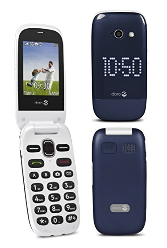 41C8IGB8MHL - BEST BUY #1 Doro 632 Blue/White Unlocked Flip Mobile Phone 3G Camera Phone with GPS Reviews and price compare uk