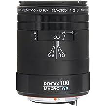 Pentax SMC-D FA 100 mm f/2.8 WR - Objetivo para Pentax (distancia focal fija 100mm, apertura f/2.8, diámetro: 49mm) color negro