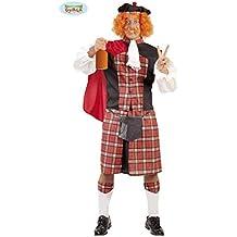 Disfraz de escocés loco para hombre - Talla 2