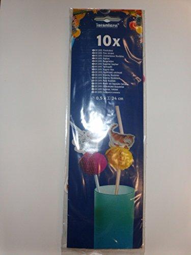 Kogler 10Farm Flex Trinkhalme in Tasche, mehrfarbig, 24x 0,5x 30cm (Farm-dekor)