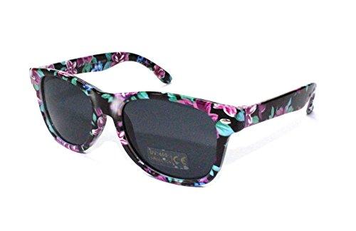 Preisvergleich Produktbild 50er 60er Jahre Retro Vintage Sonnenbrille Sommerbrille Clubmaster Style Rockabilly Trend 2017 2018 Mode Fashion Fashionbrille Beach Club Designer Brille blumen