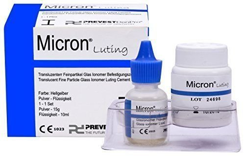 Dental Translucent Fine Particle Glass Ionomer Luting Cement -Micron Luting by PD