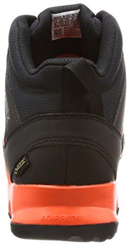 adidas Terrex Ax2r Mid GTX, Scarpe Sportive Uomo Vari colori (Negbas/Negbas/Energi)