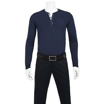 Benvenuto Herren T-Shirt 68002293940809, Gr. 48 (S), Blau (0809 Blueprint)