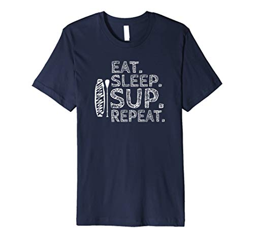 Stand Up Paddle - Eat.Sleep.SUP.Repeat T-Shirt