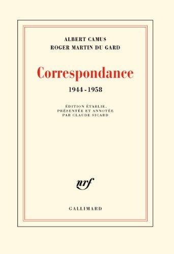 Correspondance: (1944-1958)