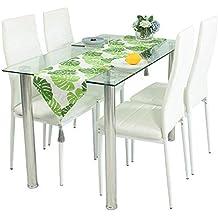 Amazon.es: juego de comedor mesa y 4 sillas