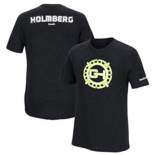 Reebok Men's Crossfit Graham Holmberg Black Tri-Blend T-Shirt -
