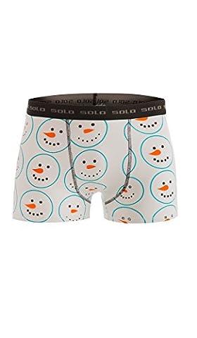 Solo Boxershort aus Baumwolle, Comfortable Underwear Boxer (L)