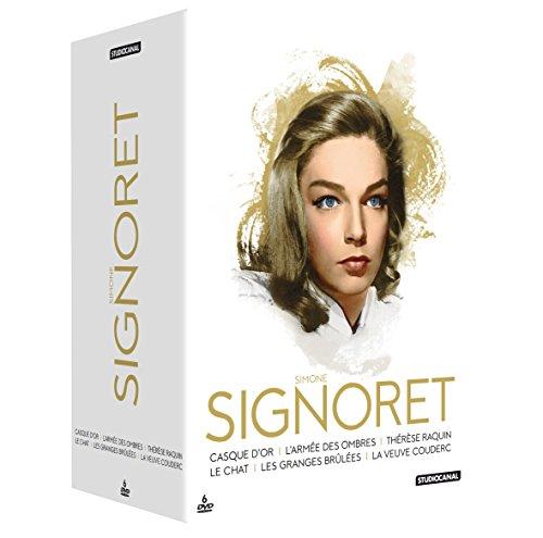 Coffret Simone Signoret: Casque d'or + L'armée des ombres + Thérèse Raquin + Le chat + Les granges brûlées + La veuve Couderc
