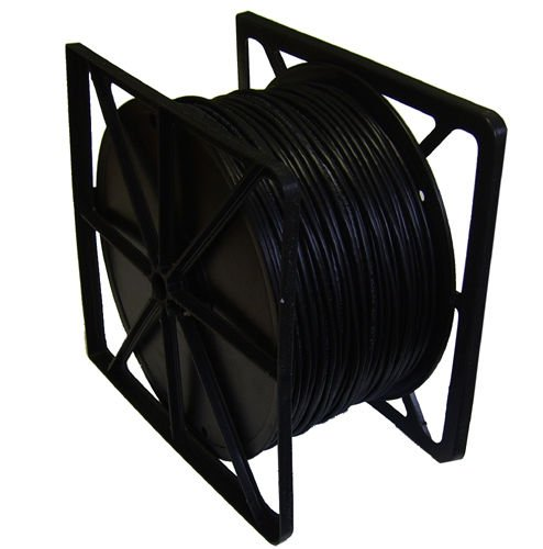 Cat6 Solid Utp-kabel (Netzwerk LAN Kabel CAT6Solid UTP Kabel mit externe PE Jacke Schwarz 305m)
